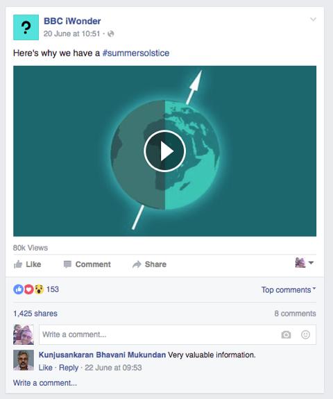 4_iWonder Facebook Page
